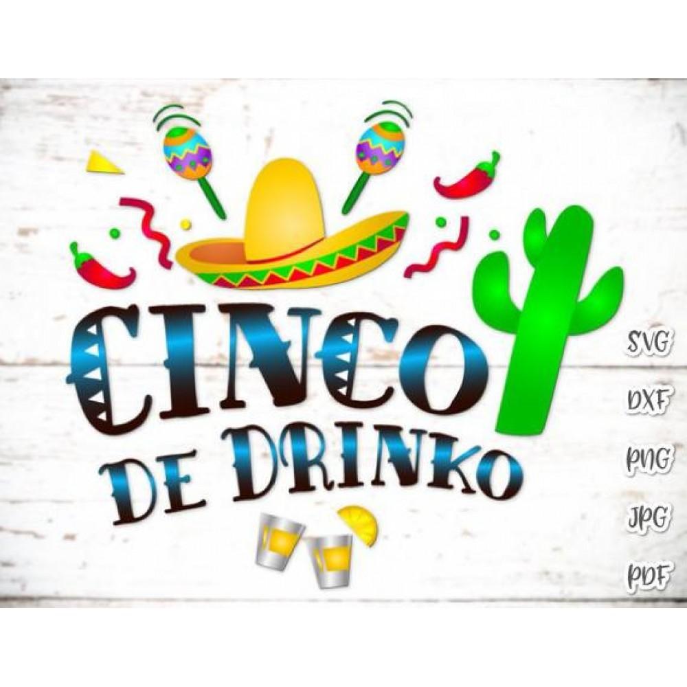 23+ Cinco De Mayo Svg | Taco Svg | Funny Svg | Silhouette | Cricut | Png Design